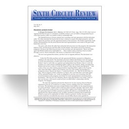 Sixth Circuit Review