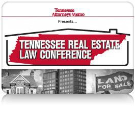 2015 Tennessee Real Estate Law Conference