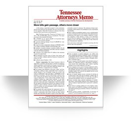Tennessee Attorneys Memo